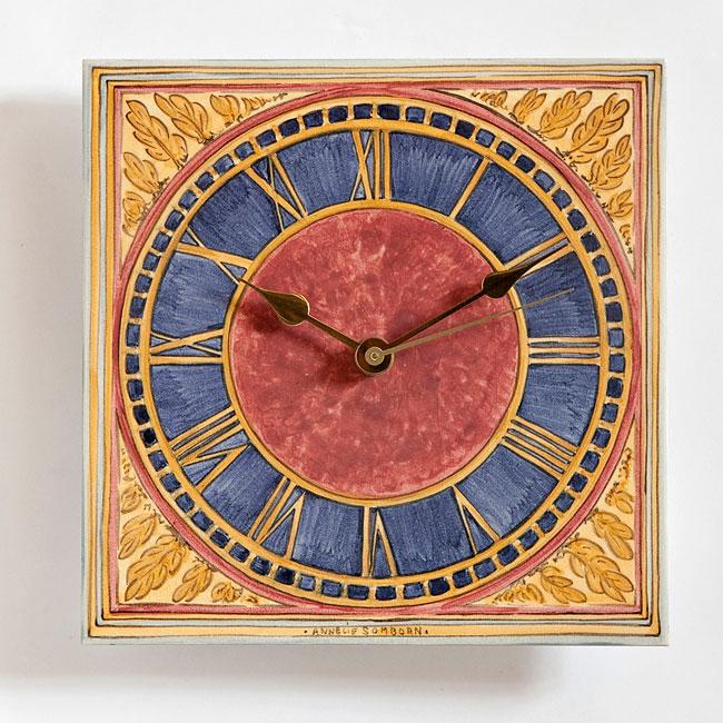 Uhren Mit Fliesenmalerei